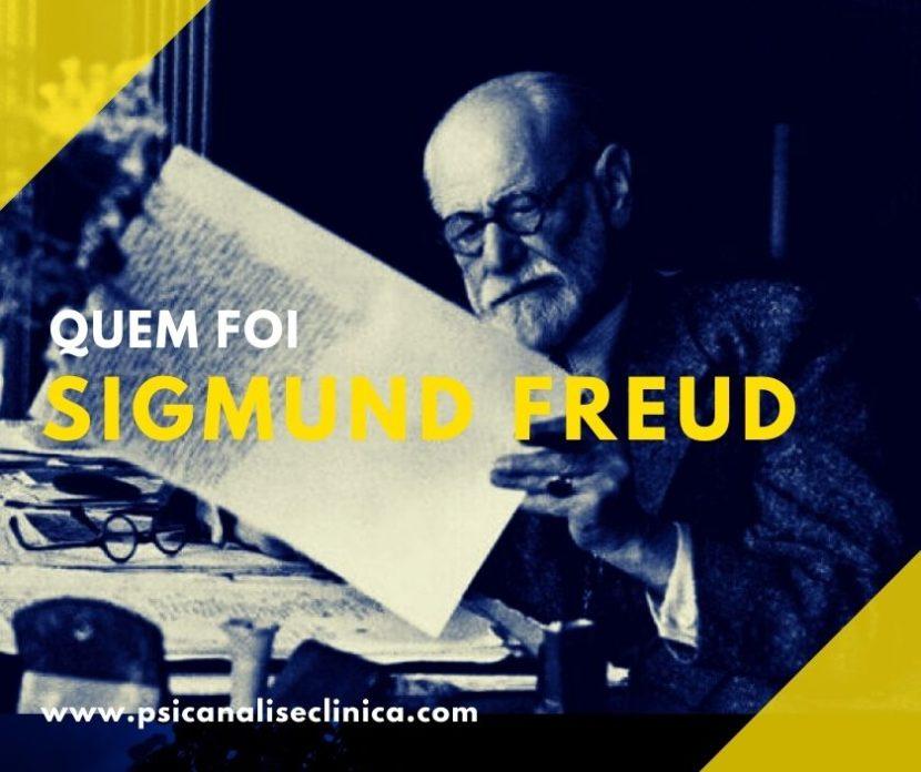 Quem foi Sigmund Freud