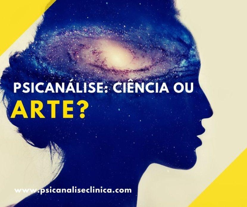 psicanálise ciência ou arte