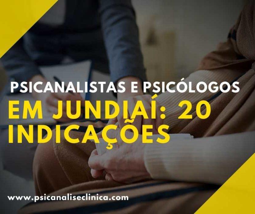 Se você mora na cidade de Jundiaí precisa ter conhecimento dos melhores terapeutas. Por isso, selecionamos os 20 psicólogos em Jundiaí.
