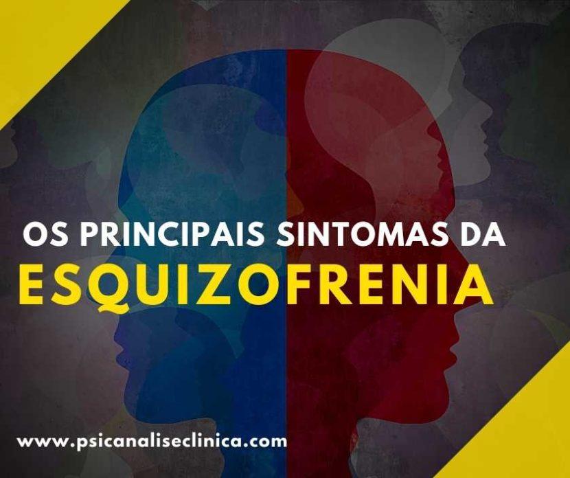 egundo a OPAS/OMS, a esquizofrenia afeta quase 2 milhões de brasileiros. Então, veja os 9 principais sintomas da esquizofrenia.