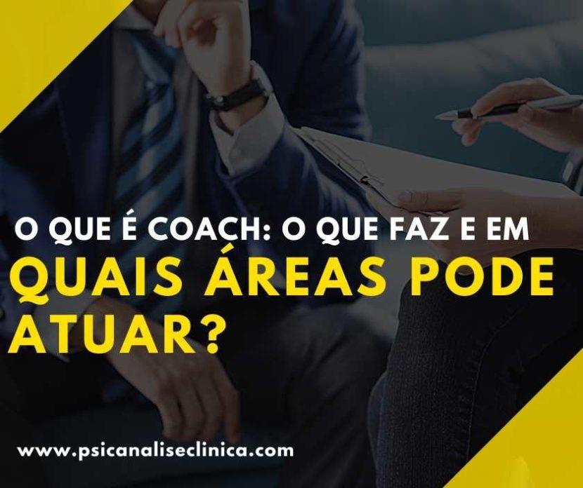o que faz um coach