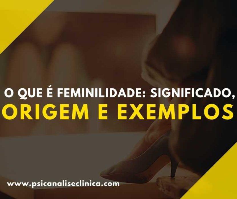 A feminilidade é um conjunto de comportamentos e atributos. Então, para entender melhor o significado deste termo, confira o nosso post!