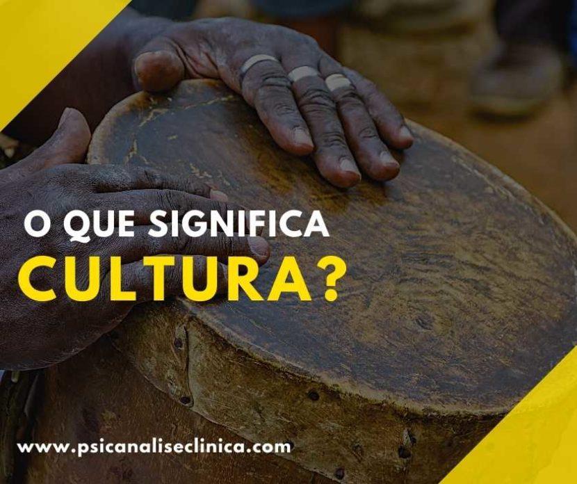o que significa Cultura