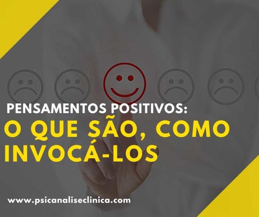 Os pensamentos positivos são fundamentais para podermos lidar com as situações do dia a dia. Então, como tê-los? Confira o nosso post!