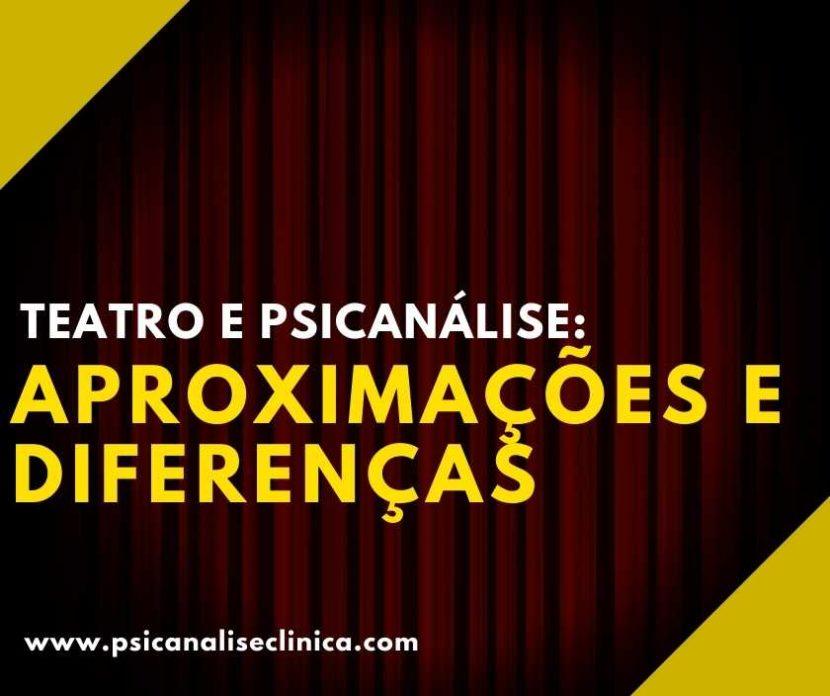 teatro e psicanálise