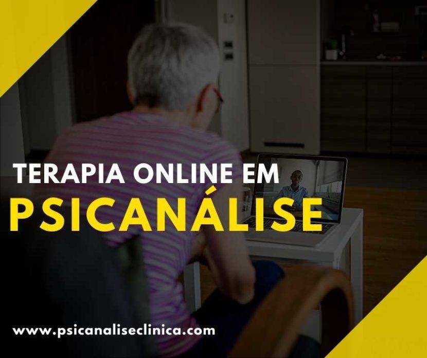terapia online em psicanálise