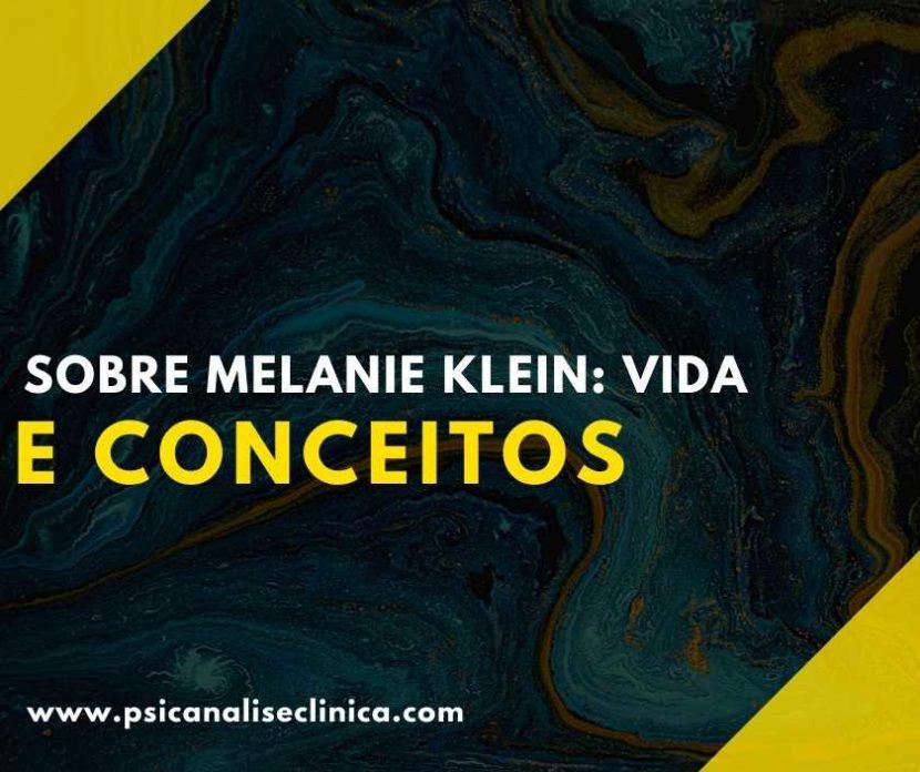 Sobre Melanie Klein