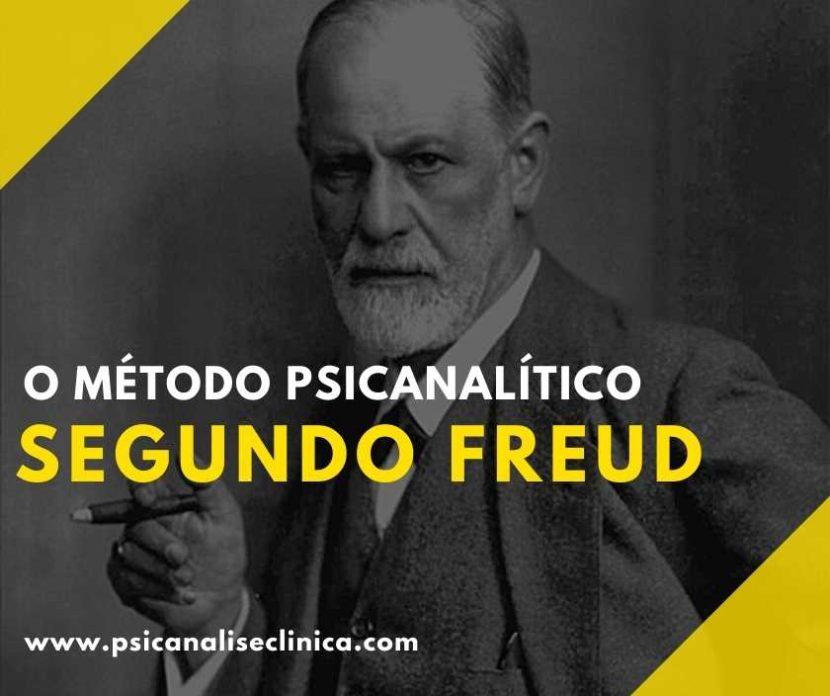 método psicanalítico segundo Freud