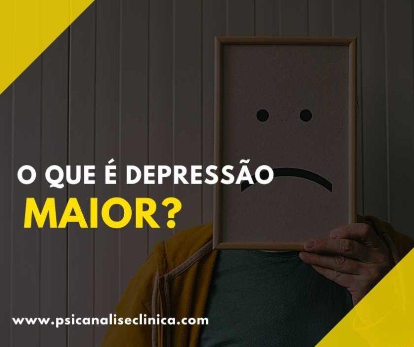 depressão maior