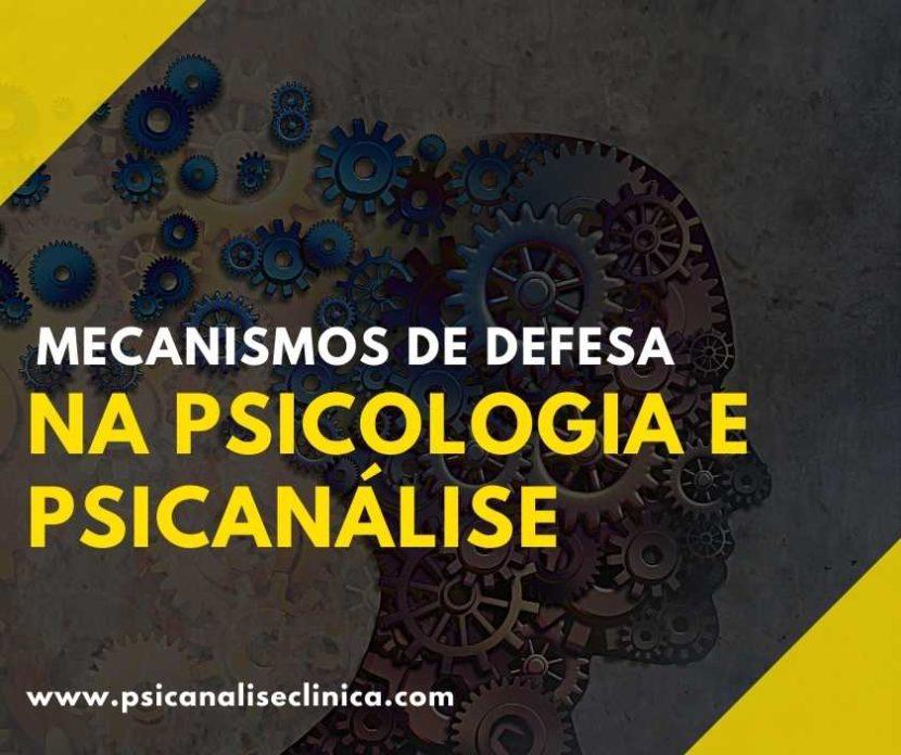 mecanismos de defesa na psicologia