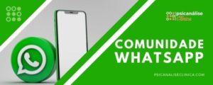 grupo comunidade whatsapp Psicanálise Clínica