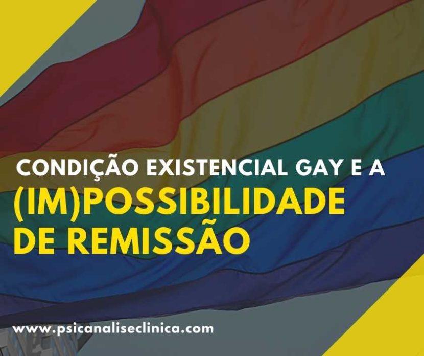 condição existencial gay