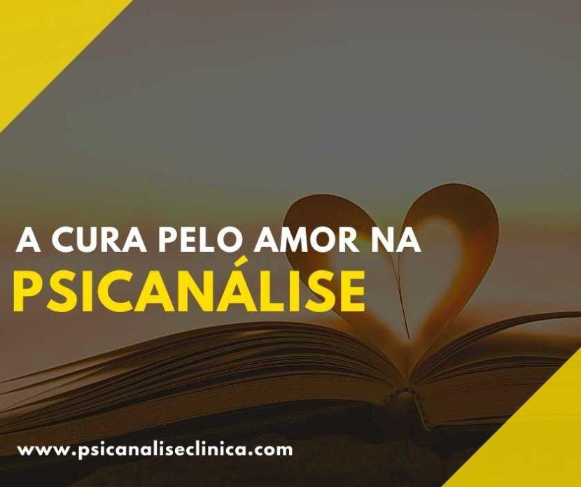 cura pelo amor