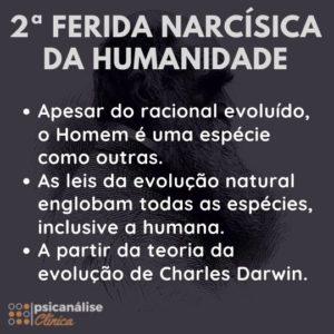 segunda ferida narcísica darwin evolução