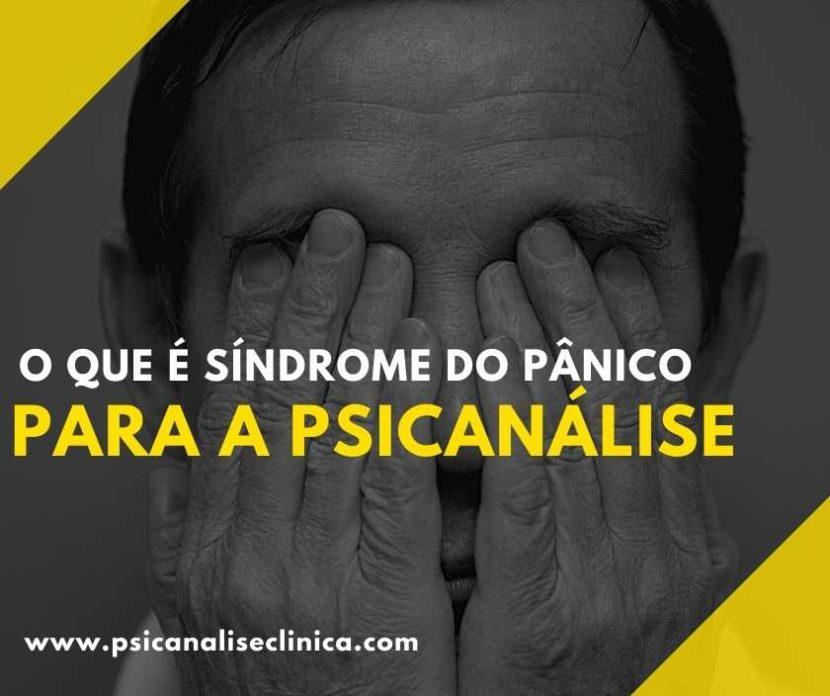 síndrome do pânico