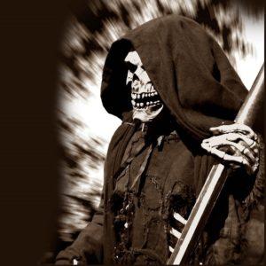 As origens da imagem do ceifador como símbolo de morte.