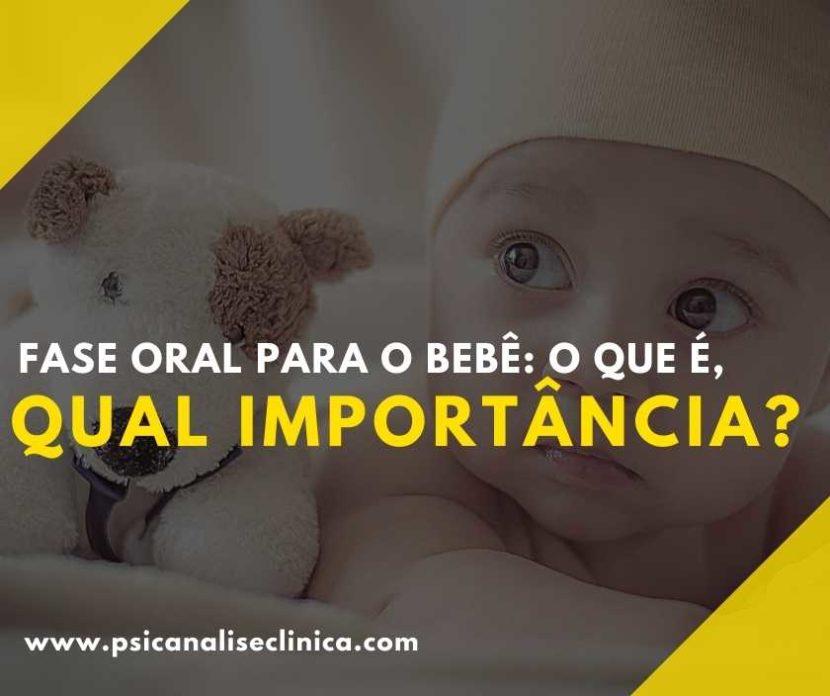fase oral para o bebê